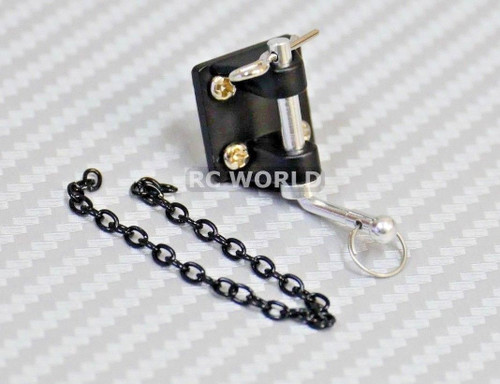 RC 1/10 Scale Accessories All Metal TOW HITCH BAR AND MOUNT
