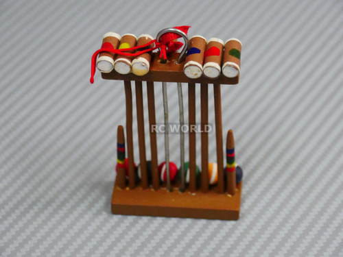 C 1/10 Scale Accessories CRICKET SET