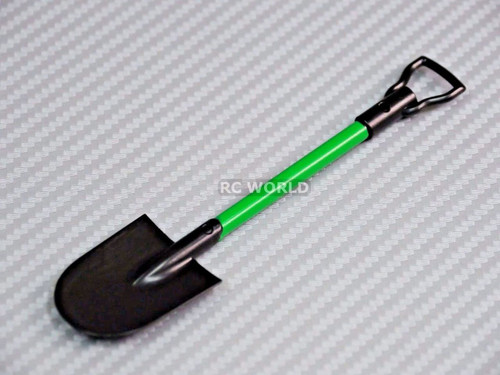 RC 1/10 Scale Accessories SHOVEL Green Plastic