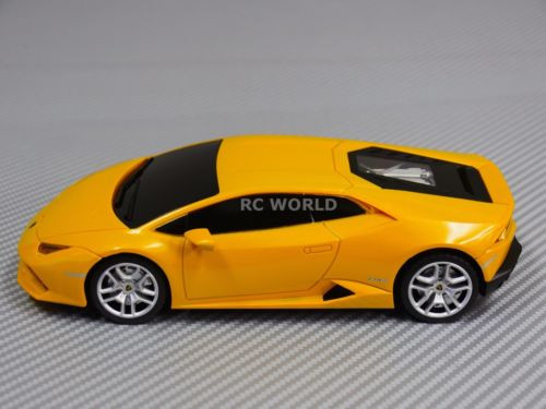 RC Car LAMBORGHINI HURACAN LP 610 MS 1/14 Radio Control 2.4GHZ Yellow