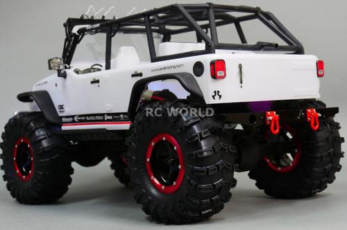 Axial SCX10  Jeep Honcho RC Truck REAR METAL BUMPER
