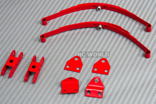 RC  Scale 1/10 LEAF SPRINGS SET For Crawlers Tamiya HighLift Chassis