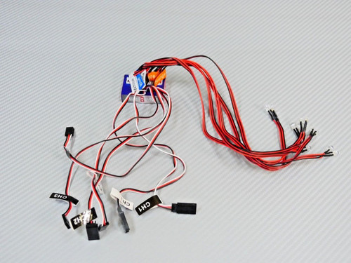 1/10 RC Car LED LIGHTS W/  TURN Blinkers, Brake Lights, Head Lights CONTROL BOX