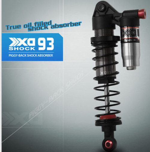 RC 1/10 TRUCK SUSPENSION PIGGY BACK SHOCK ABSORBER ALUMINUM 93MM