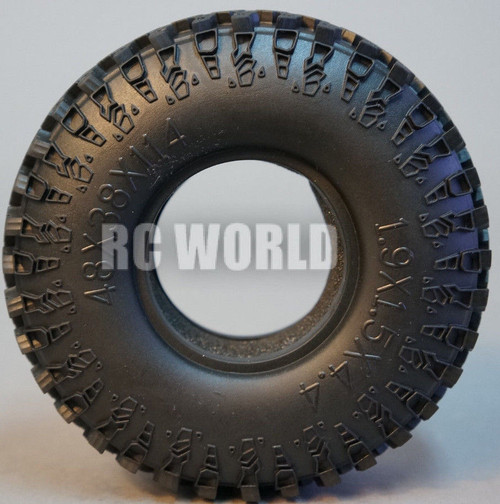 RC 1/10 Scale Truck TIRES  SWAMPERS 1.9 Rock Crawler TRUCK Wheels 115 mm (2 PCS)
