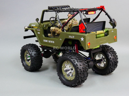 Killer Body RC Truck Body Shell 1/10 WARRIOR For SCX10 Crawler - PAINTED- Desert