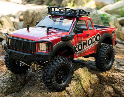 RC Truck Body Shell 1/10 KOMODO Pick Up ROCK CRAWLER Body Shell *clear* -NEW