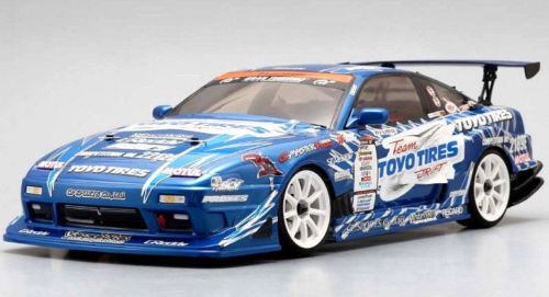 Yokomo 1/10 RC Car BODY Shell Team TOYO TIRES DRIFT GP SPORTS 180SX SD-TY18SA