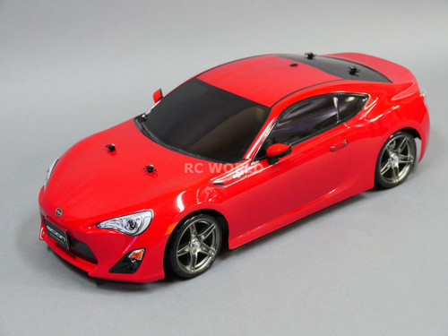 TAMIYA 1/10 SUBARU BRZ Scion Toyota FRS 86 BODY Shell *FINISHED* RED  *NEW*