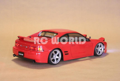 1/10 RC Car Body Shell TOYOTA MR2 TURBO J SPEC Body W/ Light Buckets 190 mm