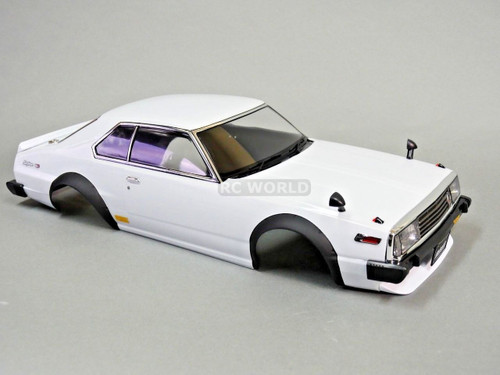 1/10 RC Car BODY Shell NISSAN SKYLINE HT 2000 190 mm *CLEAR* Unassembled