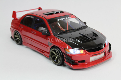 1/10 RC MITSUBISHI EVOLUTION EVO 9 BODY KIT VOLTEX Body Kit