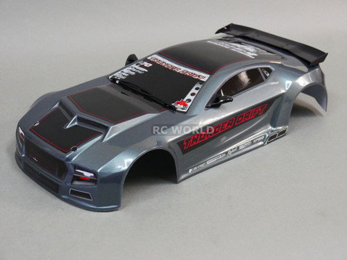 1/10 RC Car THUNDER DRIFT Body SHELL Painted + Finished Red Cat 200mm BODY SHELL