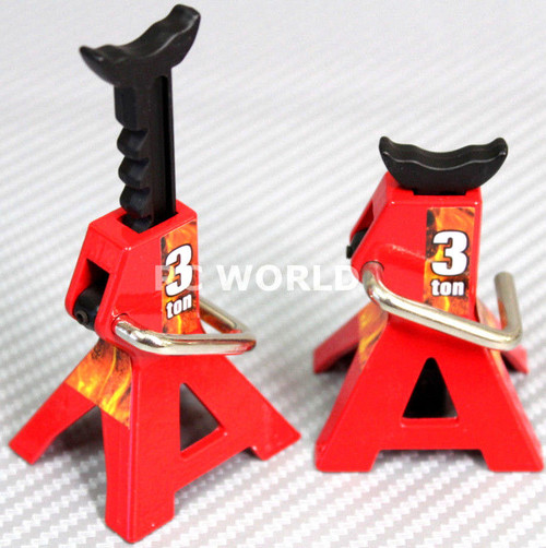 RC 1/10 Scale Truck Accessories METAL JACK STANDS 3T