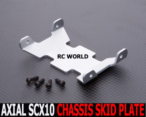 Axial SCX10 METAL SKID PLATES For CHASSIS Rock Crawling Chassis Plate *NEW*