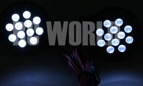 New RC 1/8 1/5 Buggy Truggy Car Truck POWERFUL LED LIGHT HEADLIGHT