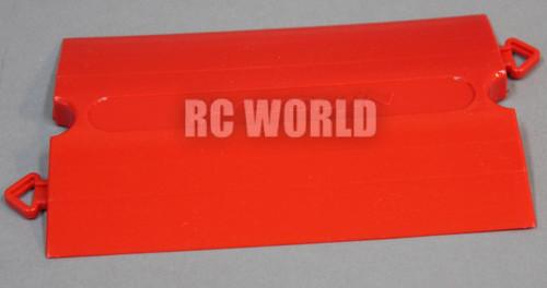 Rc Car, Truck, Short Course RACE Drift TRACK Parts STRAIGHT Red Tetsujin Kerbs