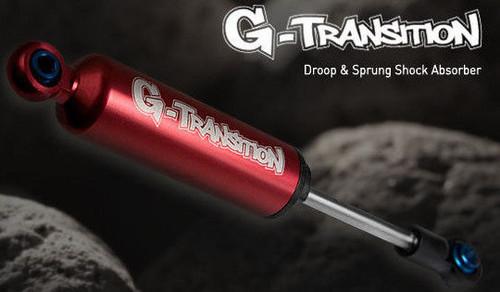 RC 1/8 TRUCK Rock Crawler Suspension G-TRANSITION 90MM SHOCKS ABSORBER RED <4PCS