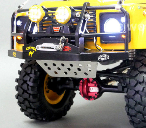 RC 1/10 Scale Truck Accessories METAL SERVO GUARD Gelande Defender