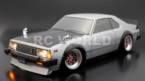 1/10 RC BODY CAR NISSAN SKYLINE GT TURBO WIDE BODY 200MM WIDE BODY 200MM