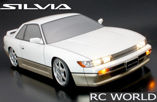 1/10 RC Car Body Shell NISSAN SILVIA Drift BODY SHELL