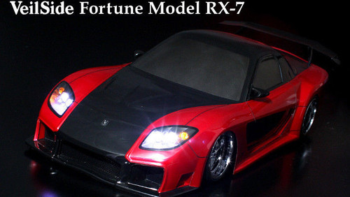 1/10 RC Car Body Shell MAZDA RX-7 RX7 VEILSIDE FORTUNE Drift BODY SHELL