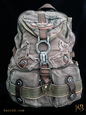 Atomic Slug Backpack - Olive