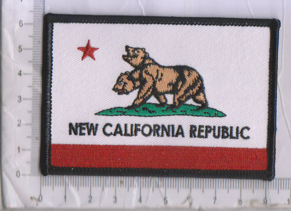 New California Republic patch