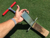 "The new and improved Mascaro Profile Sampler extract a cross section of the soil profile with this 7"" deep, 3"" wide and 1/2"" thick sampler. The cutter blade opens with the aid of a specially designed hinge exposing the Soil Profile with unmatched quality.  Overall length is 25.5 inches."