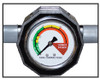 Turf-Tec Soil Compaction Tester / Dial Penetrometer - Close up of read out dial
