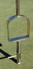"""Plug Popper Tubular Soil Sampler - 1 1/2"""" diameter x 4 inches deep - Stainless Steel Sampler - Bottom view"""