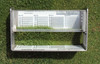Turf-Tec Grass Height Prism Gauge with hard case - Imperial unit (Shows 1/16, 1/8, 1/10th of inch) and metric 1 mm scale - FIFA (Metric unit available)
