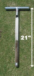 """Tubular Soil Sampler 1"""" Inch Diameter x 21"""" Inch tall"""