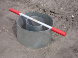 """IN8-W - Turf-Tec Heavy Duty Tall Infiltration Rings - 6"""" X 12"""" Inch Diameter X 7 inches tall"""