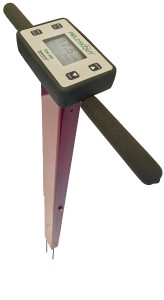 TDR 350 Soil Moisture Meter - The FieldScout TDR 350 includes VWC (Volumetric Water Content) soil moisture readings, EC (Electrical Conductivity) measurement, turf surface temperature measurement, a backlit display, integrated Bluetooth, internal GPS and data logging.
