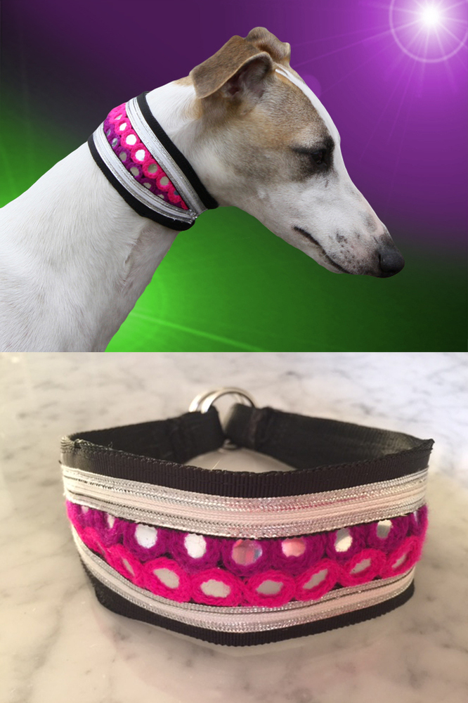 adored hippie luxe whippet collar