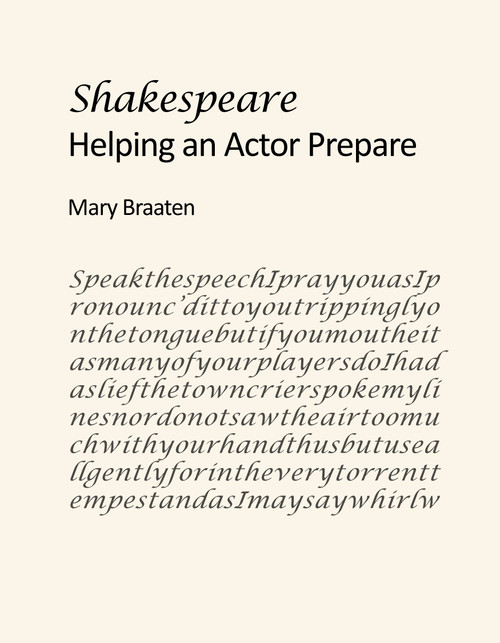 SHAKESPEARE: Helping an Actor Prepare