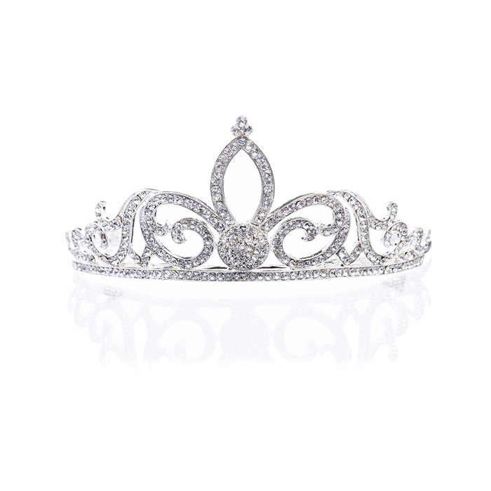 Bridal Wedding Jewelry Crystal Rhinestone Sophisticated Hair Headband Tiara