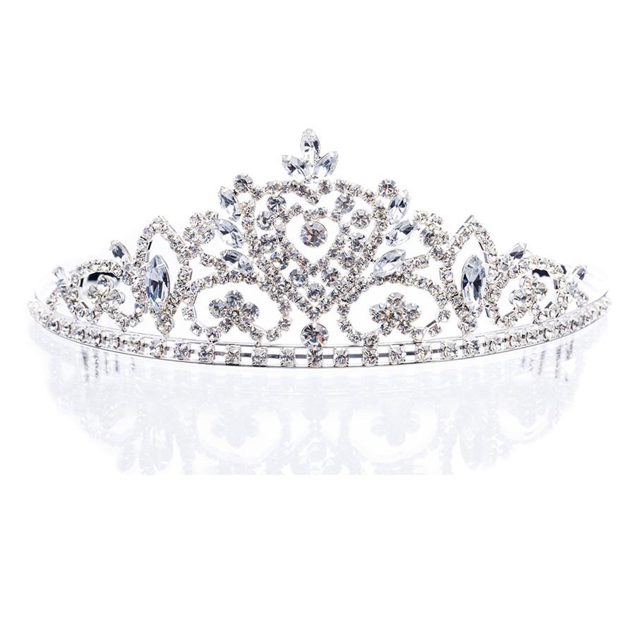 Bridal Wedding Jewelry Crystal Rhinestone Dazzle Vintage Hair Headband Tiara