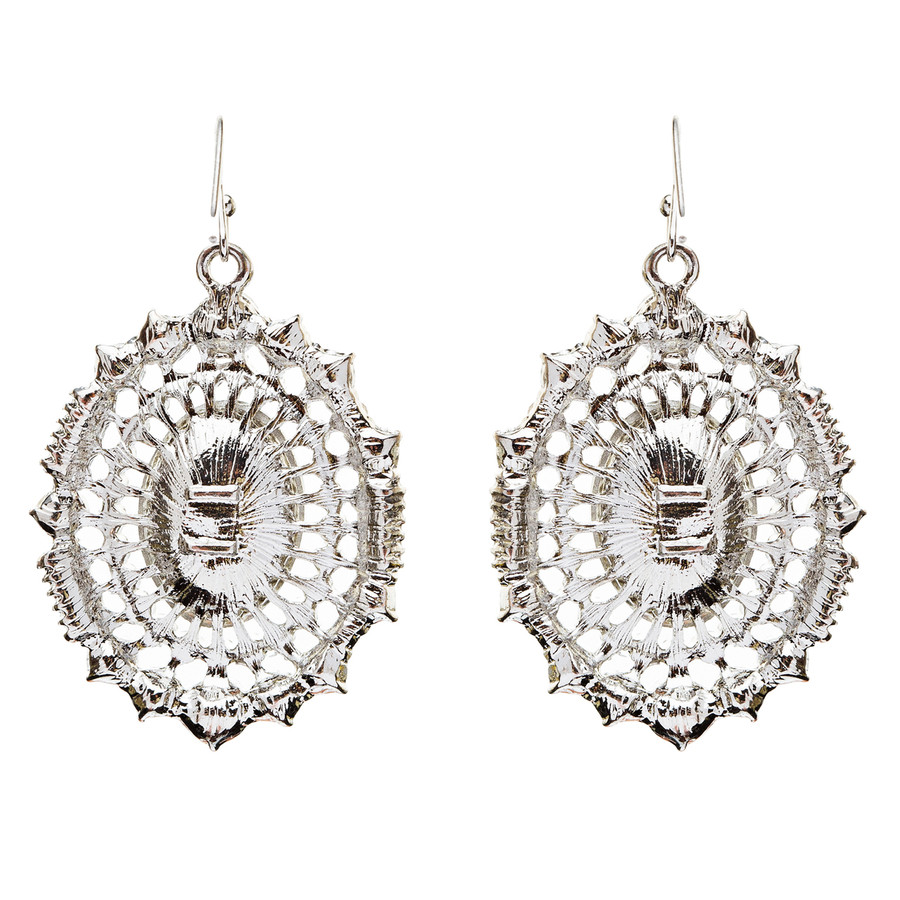 Exquisite Beautiful Crystal Rhinestone Dangle Bridal Fashion Earrings E738 SV
