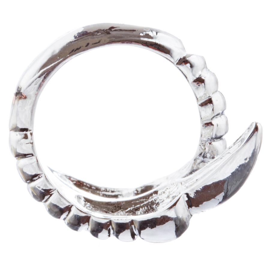 Chic Stylish Claw Design Adjustable Fashion Ring R224 Silver