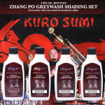 Kuro Sumi Ink - Zhang Po Shading Set