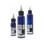 Dark Blue - Solid Ink