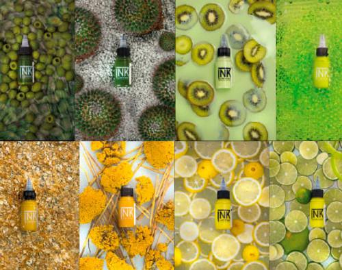 Cheyenne Ink - Green & Yellow