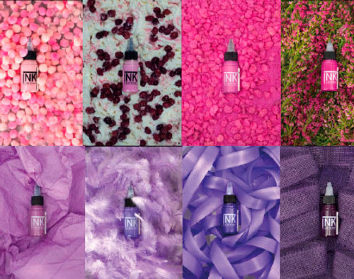 Cheyenne Ink - Pink & Violet