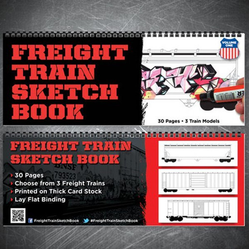 Freight Train Sketch Book