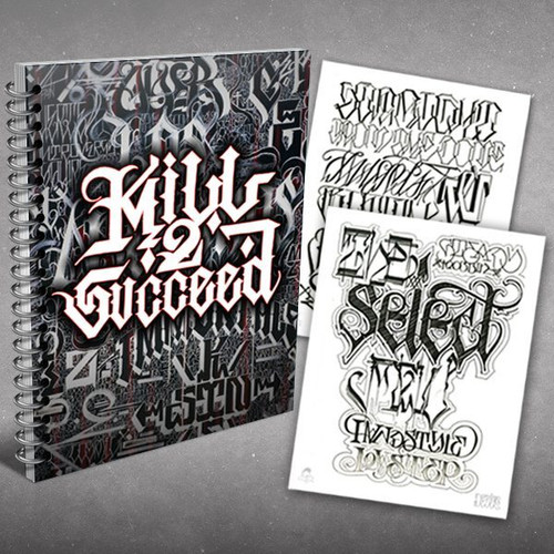 Kill 2 Succeed Sketch Book / Reference Guide