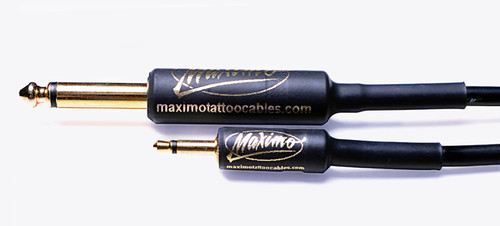 Maximo Tattoo Cables - Mini Plug Cable - 7 ft