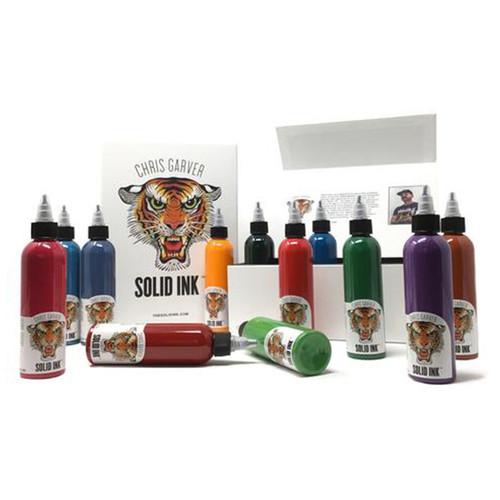 Chris Garver Deluxe Box Set ( 12 colors 4oz each - Box - Shirt )
