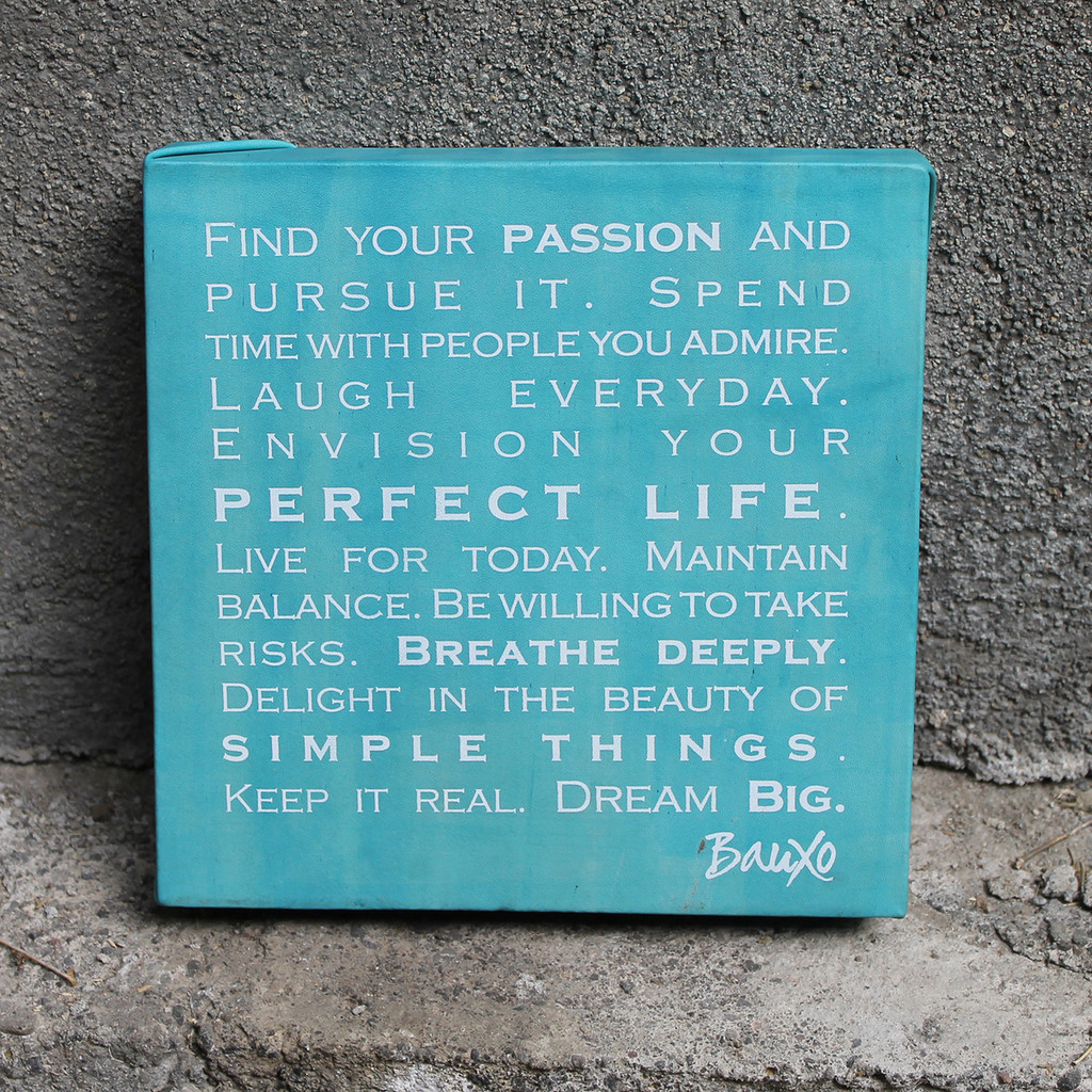 passion leather wall art